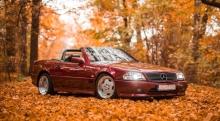 Mercedes SL 500 R129 - Car rental warsaw, car rental cracow, car rental poland - Rent a car Warsaw and Cracow